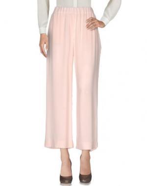 Повседневные брюки N_8. Цвет: розовый