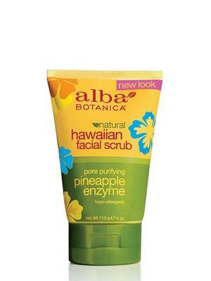 Гавайский скраб для лица, 118 гр Alba Botanica. Цвет: прозрачный