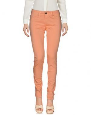 Повседневные брюки FLY GIRL. Цвет: лососево-розовый