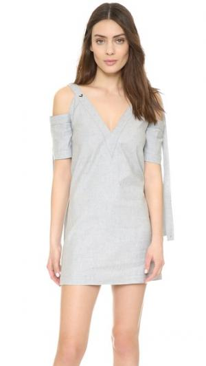 Платье Bianca KEMPNER. Цвет: светлый индиго
