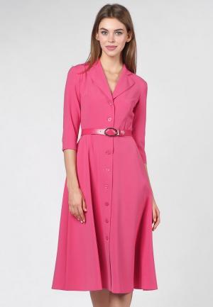 Платье OKS by Oksana Demchenko. Цвет: розовый