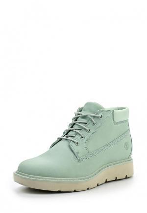 Ботинки Timberland. Цвет: мятный