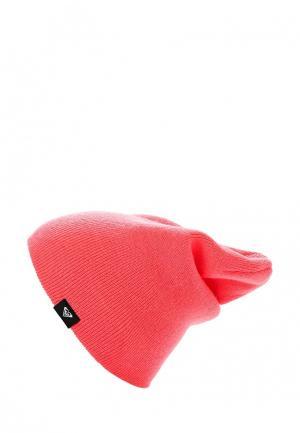 Шапка Roxy. Цвет: розовый