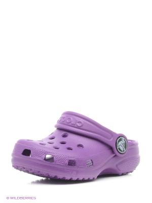 Сабо CROCS. Цвет: темно-фиолетовый, фиолетовый
