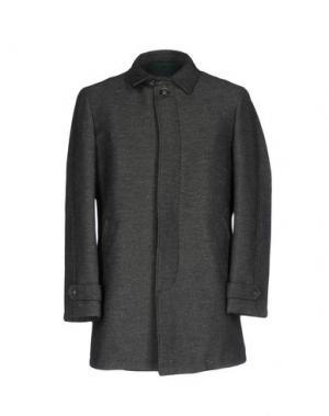 Пальто BARBATI. Цвет: свинцово-серый
