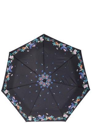 Зонт Labbra. Цвет: черный, оранжевый, синий