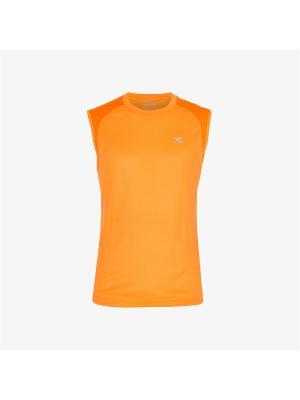 Майка DIADORA. Цвет: оранжевый