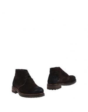 Полусапоги и высокие ботинки XAGON MAN. Цвет: темно-коричневый