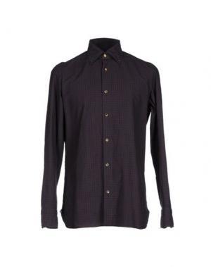 Pубашка GIAMPAOLO. Цвет: коричневый