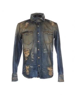 Джинсовая рубашка PHILIPP PLEIN 42583157XC