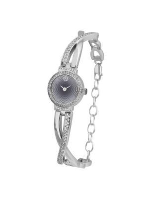 Часы ювелирные коллекция Q-Chic, QWILL, Часовой завод Ника QWILL. Цвет: светло-серый