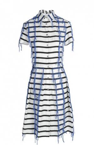 Платье Jourden. Цвет: синий