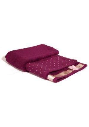 Махровое полотенце Tete-a-Tete. Цвет: коричневый, красный (бордовый), синий