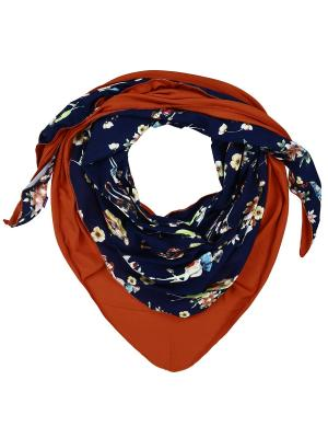 Платок Оланж Ассорти. Цвет: синий, оранжевый