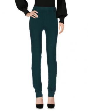 Повседневные брюки GROCERIES. Цвет: темно-зеленый