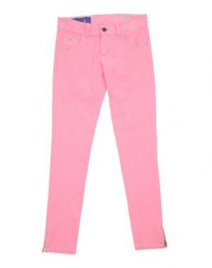 Джинсовые брюки HARMONT&BLAINE. Цвет: розовый