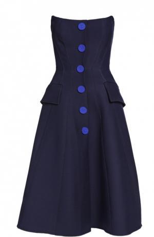 Платье Derek Lam. Цвет: темно-синий