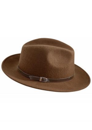 Шляпа Collezione. Цвет: светло-коричневый