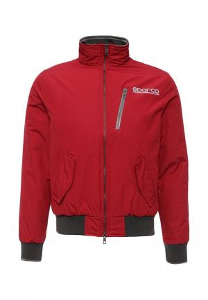 Куртка утепленная Sparco. Цвет: красный