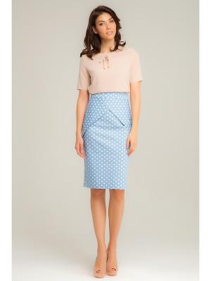 Блузка Vittoria Vicci. Цвет: кремовый