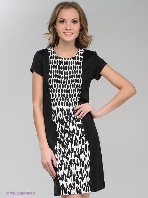 Платье Pura. Цвет: черный, белый