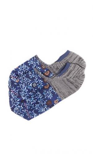 Невидимые носки Leaf STANCE. Цвет: голубой