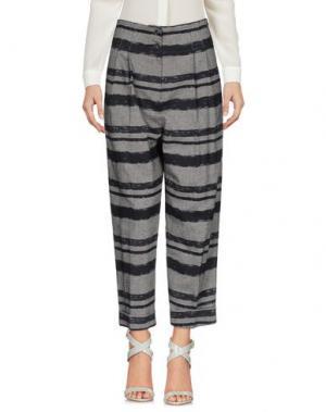 Повседневные брюки BONSUI. Цвет: серый