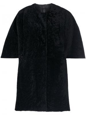 Single breasted coat Drome. Цвет: чёрный