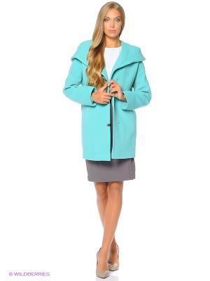 Пальто Anora. Цвет: светло-зеленый