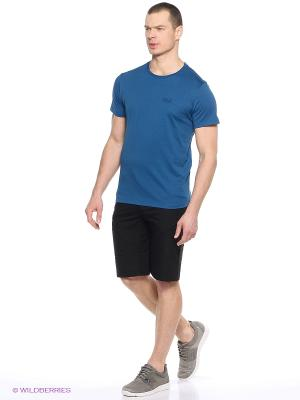 Шорты ACTIVE TRACK SHORTS MEN Jack Wolfskin. Цвет: черный