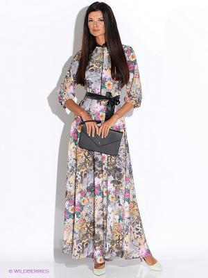 Платье Alina Assi. Цвет: светло-серый