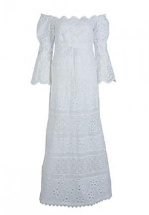 Платье TEMPTATION. Цвет: белый