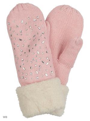 Варежки Punta. Цвет: розовый