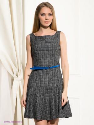 Платье BOVONA. Цвет: черный, синий