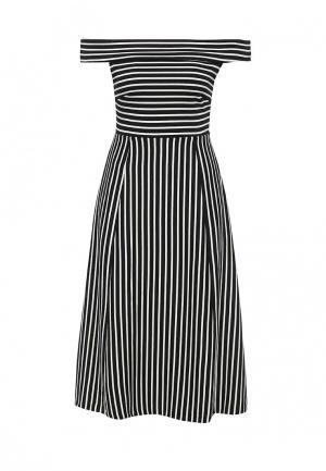 Платье Banana Republic. Цвет: черно-белый