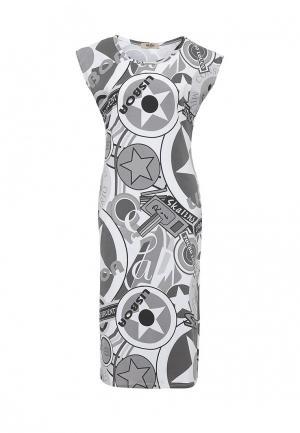 Платье Besh. Цвет: серый