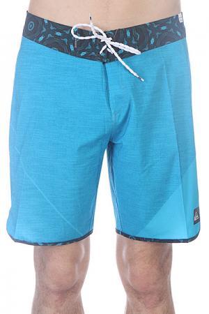 Шорты пляжные  New Wave Bdsh Hawaii Quiksilver. Цвет: голубой