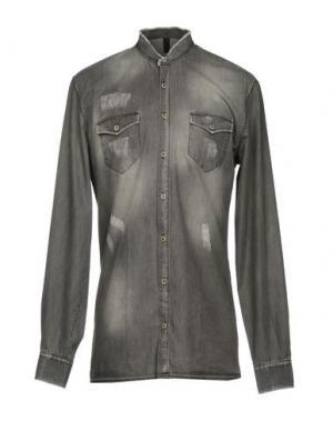 Джинсовая рубашка IMB I'M BRIAN. Цвет: черный