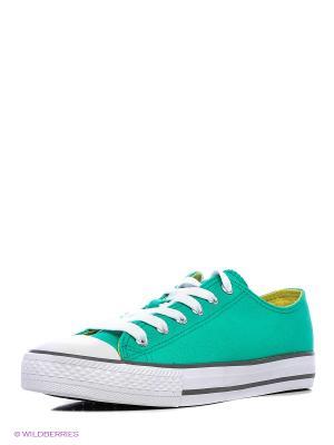 Кеды HCS. Цвет: зеленый