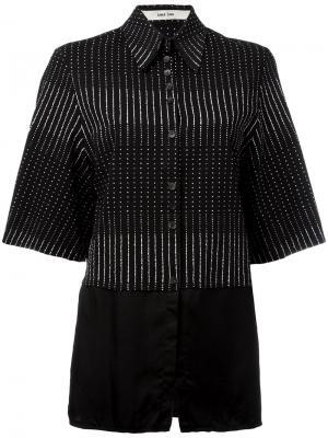 Рубашка Siri Damir Doma. Цвет: чёрный