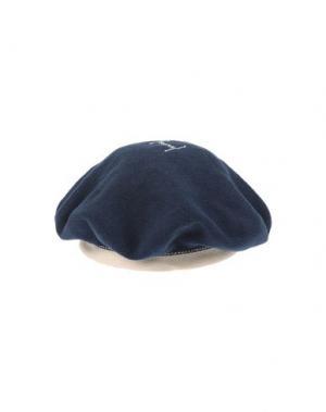 Головной убор SCHA. Цвет: темно-синий