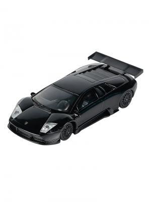 Машинка Lamborghini Murcielago R-GT, Черная (1:43) (PS-0616403-BL) Pit Stop. Цвет: черный