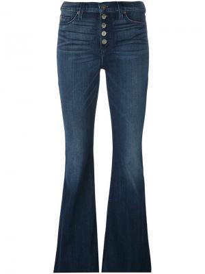 Расклешенные джинсы Jodi Hudson. Цвет: синий