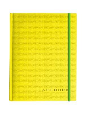 Дневник школьный на резинке megapolis soft (желтый) Альт. Цвет: желтый