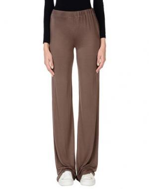 Повседневные брюки ALPHA STUDIO. Цвет: темно-коричневый