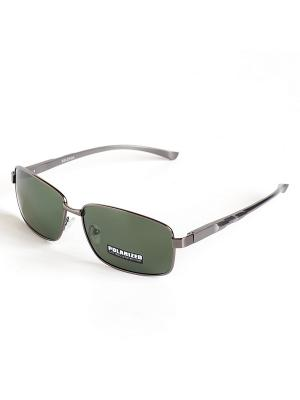 Солнцезащитные очки Selena. Цвет: зеленый, серый