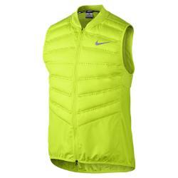 Мужской жилет для бега  Aeroloft 800 Nike. Цвет: желтый