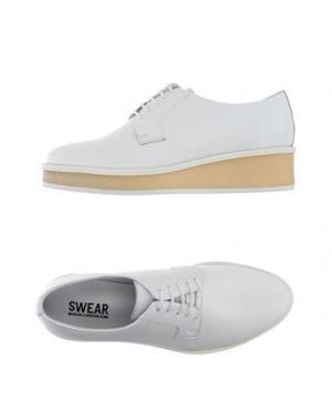 Обувь на шнурках SWEAR-LONDON. Цвет: белый