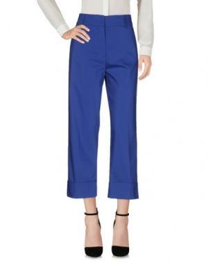 Повседневные брюки OPIFICIO TI. Цвет: синий