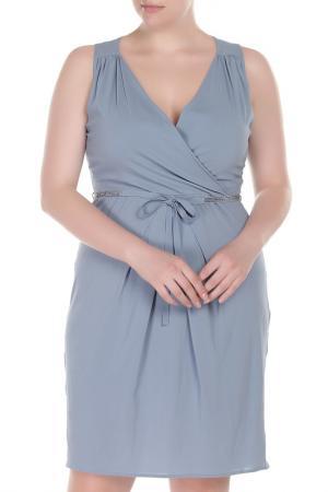 Платье с запахом Liu Jo. Цвет: синий